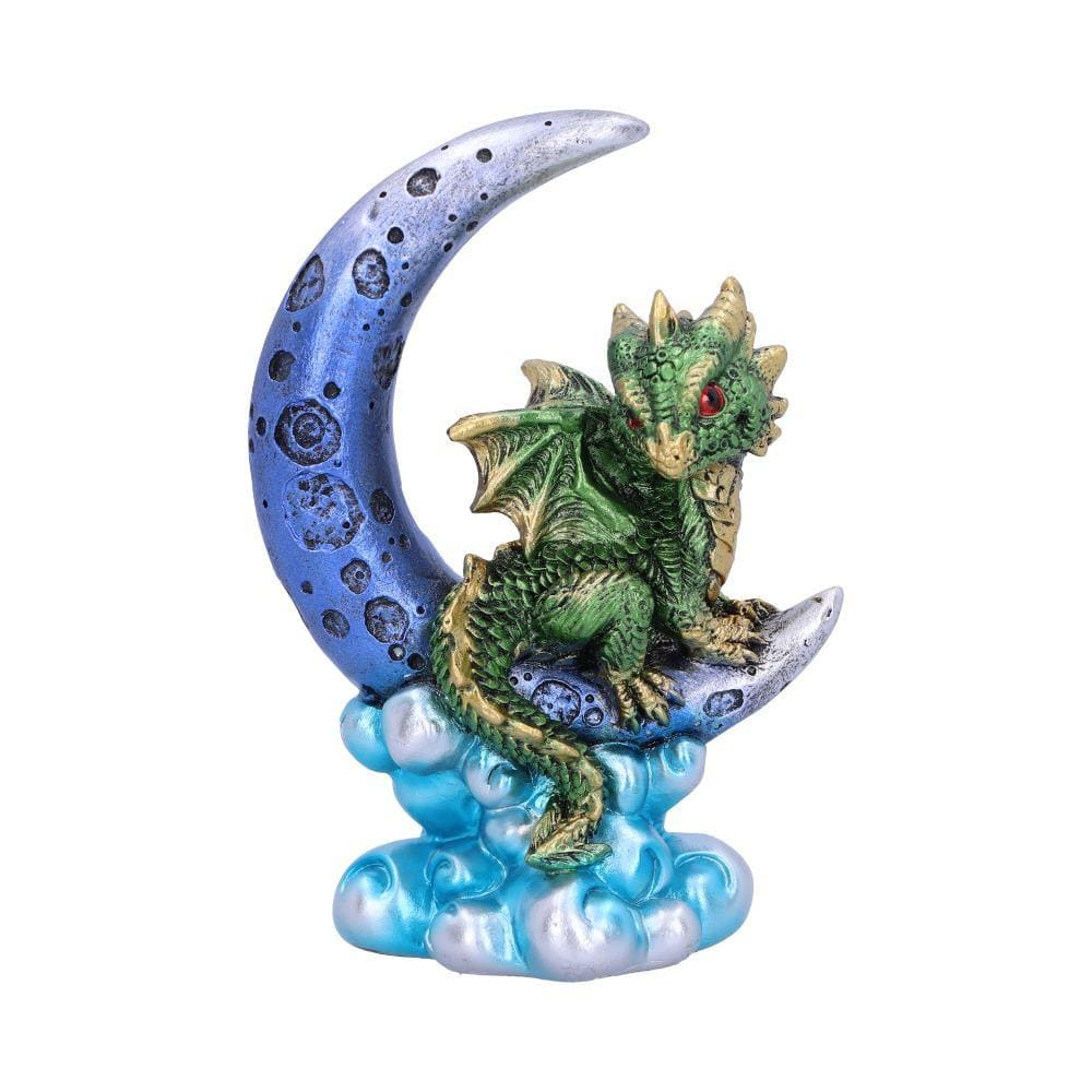Crescent Creature (Green) 11.5cm Dragon Figurine Small