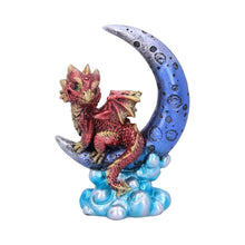 Load image into Gallery viewer, Crescent Creature (Red) 11.5cm Dragon Figurine Small
