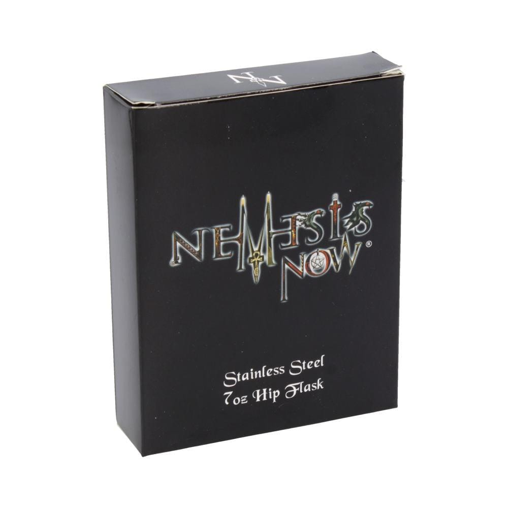 Nemesis Now Danegeld Hip Flask 7oz Mythic Hipflask