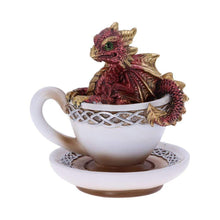 Load image into Gallery viewer, Dracuccino (Red) 11.3cm Dragon Figurine Small