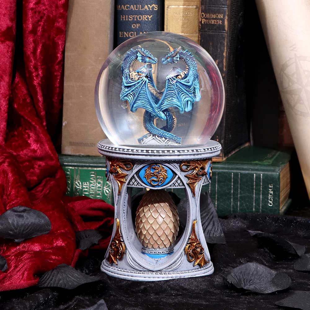 Dragon Heart Snow Globe (As) Dragon Snowglobe