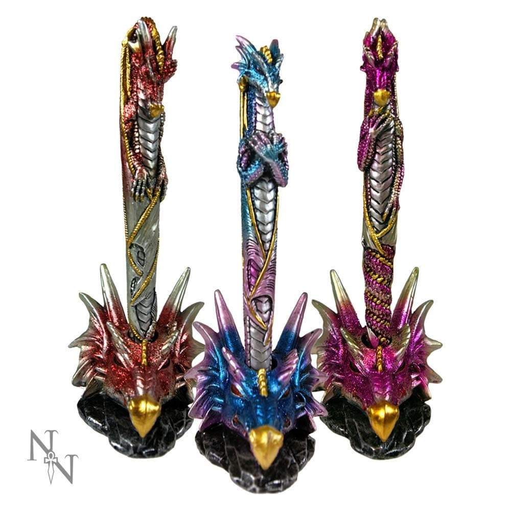 Nemesis Now Dragon Pens & Holders 16.5cm (Set Of 3) Dragon Pen