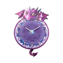 Load image into Gallery viewer, Nemesis Now Dragon Tickin' Dragon Clock