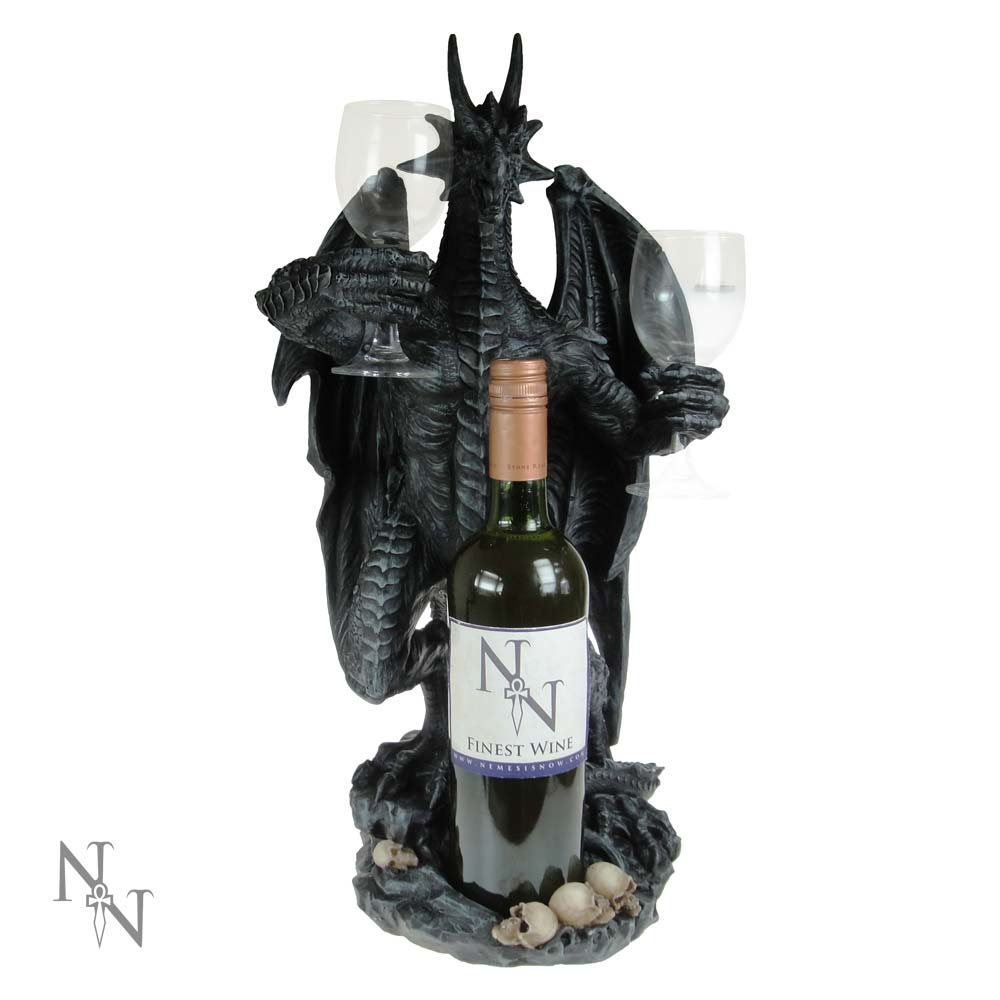 Nemesis Now Dragon Wine Guardian 50cm Dragon Wine Bottle Holder