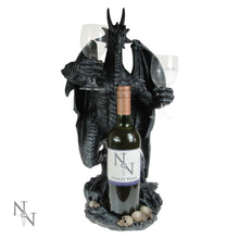 Load image into Gallery viewer, Nemesis Now Dragon Wine Guardian 50cm Dragon Wine Bottle Holder