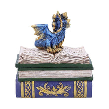 Load image into Gallery viewer, Dragonling Diaries (Blue) 11.3cm Dragon Box