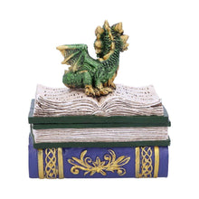 Load image into Gallery viewer, Dragonling Diaries (Green) 11.3cm Dragon Box