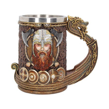 Load image into Gallery viewer, Drakkar Viking Tankard 15cm Mythic Tankard