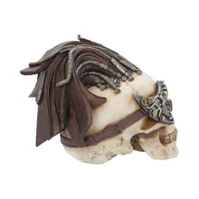 Load image into Gallery viewer, Dreadlock Device 24.5cm (Large) Skull Figurine Medium