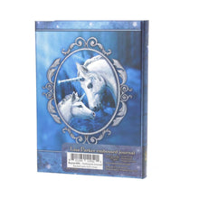 Load image into Gallery viewer, Nemesis Now Embossed Journal Sacred Love (Lp) 17cm Unicorn Journal