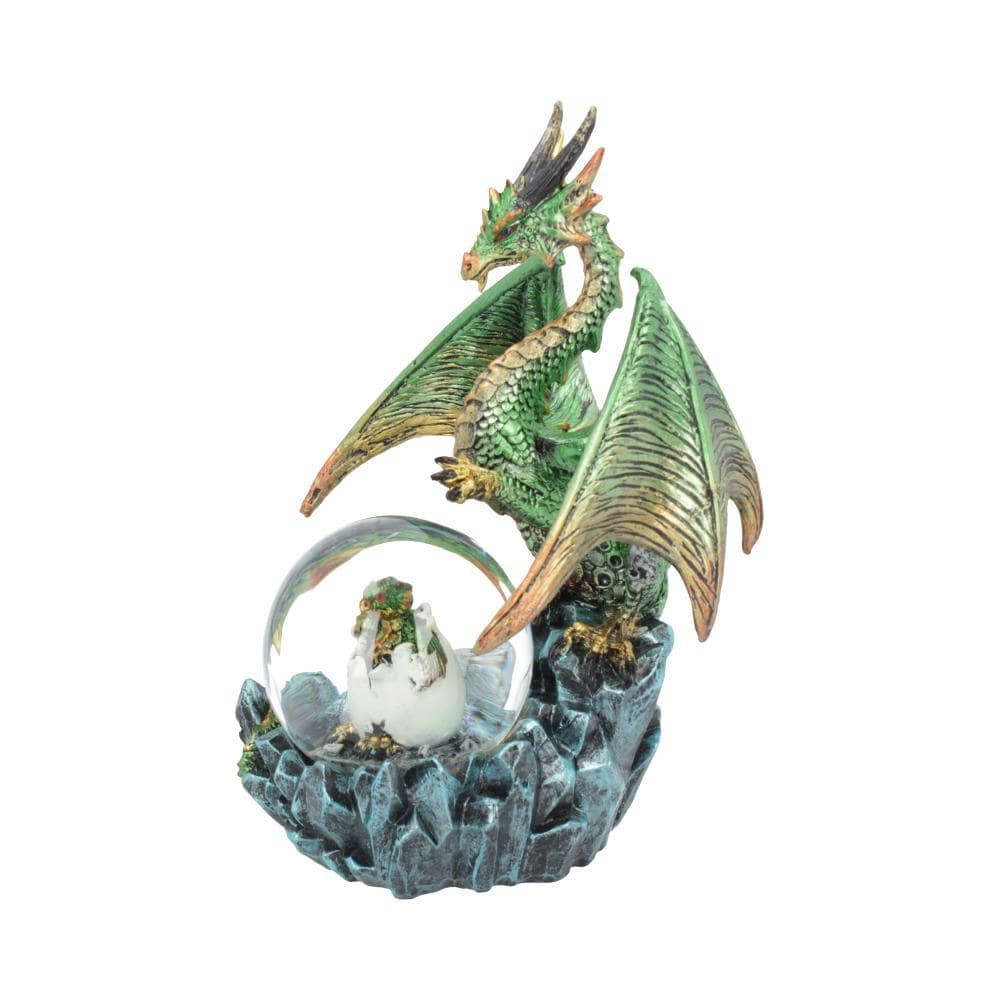 Emerald Oracle 19cm Dragon Snow Globe