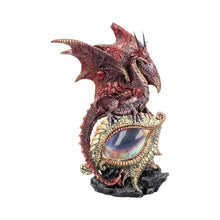 Load image into Gallery viewer, Eye Of The Dragon Red 21cm Dragon Figurine Medium