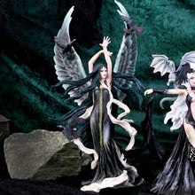 Load image into Gallery viewer, Nemesis Now Faery Of Ravens By Nene Thomas 31cm Raven Figurine Large