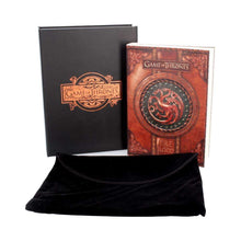 Load image into Gallery viewer, Nemesis Now Fire And Blood Journal (Got) Small Fantasy Journal