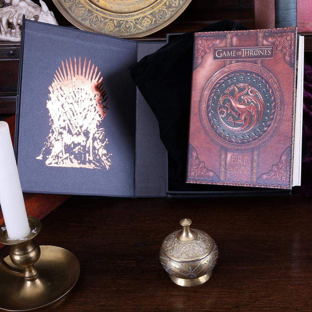 Nemesis Now Fire And Blood Journal (Got) Small Fantasy Journal