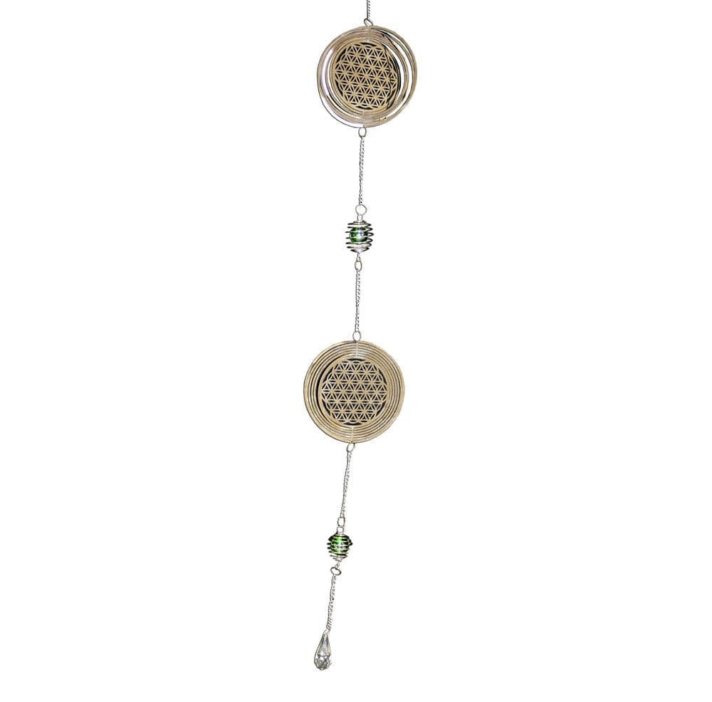 Nemesis Now Flower Of Life Hanging Decoration Miscellaneous Dreamcatcher