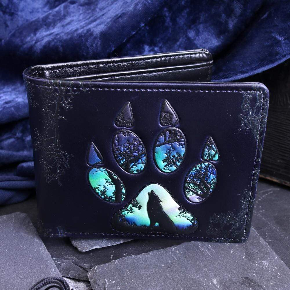 Nemesis Now Footprints Wallet 11cm Wolves Wallet