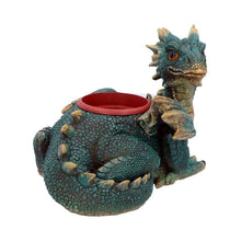 Load image into Gallery viewer, Garden Protector Plant Pot 30cm Dragon Figurine Large