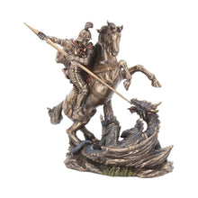 Load image into Gallery viewer, Nemesis Now George And The Dragon 23cm Medieval Figurine Medium