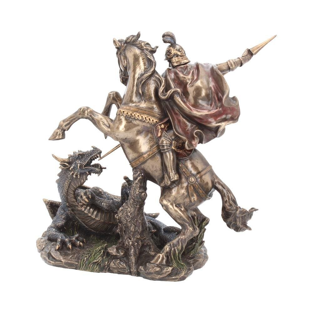 Nemesis Now George And The Dragon 23cm Medieval Figurine Medium