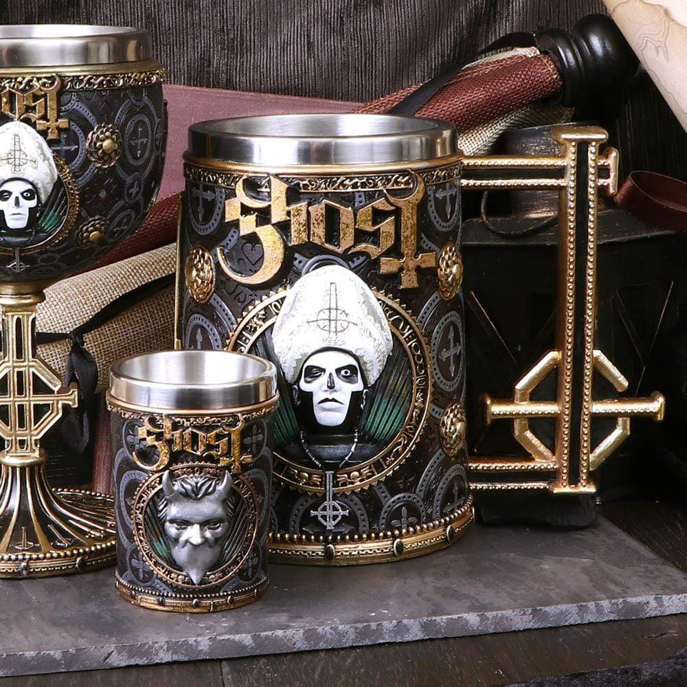 Ghost Gold Meliora Tankard Band Merch Tankard