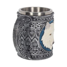 Load image into Gallery viewer, Ghost Wolf Tankard Large 17cm Wolves Tankard