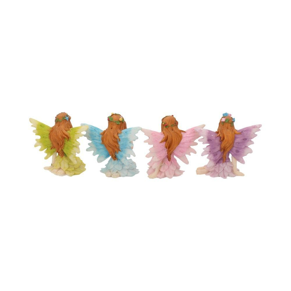 Glen Whispers (Set Of 4) 6.5cm Fairies Figurine Small