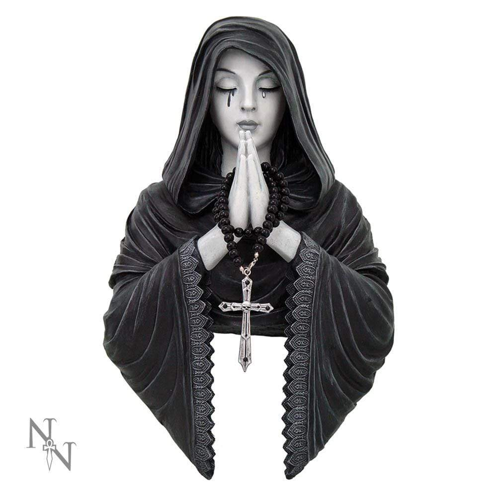 Nemesis Now Gothic Prayer 39cm Gothic Wall Hanger