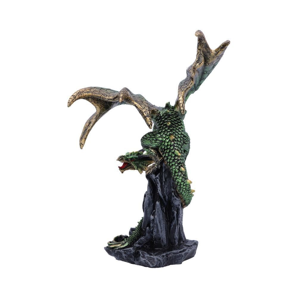 Hear Me Roar Green 15cm Dragon Figurine Medium
