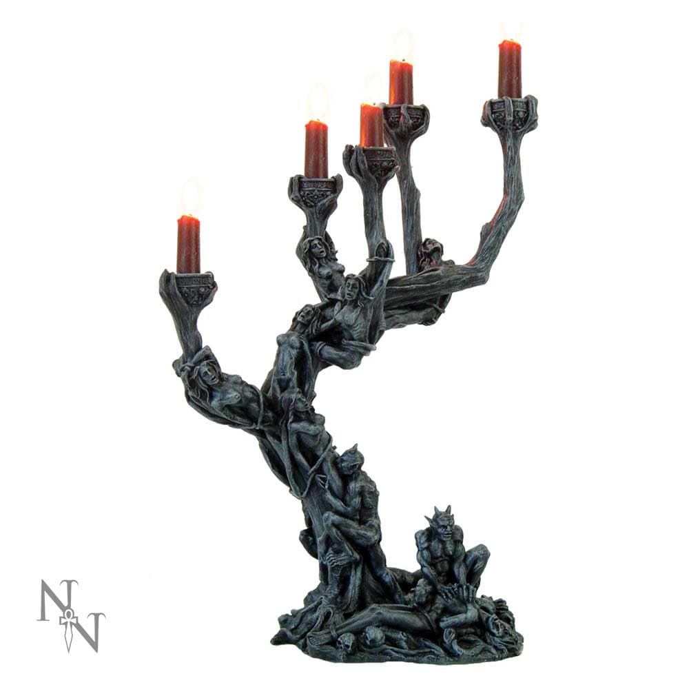 Nemesis Now Hells Demons Candle Holder 45cm Demon Candle/Tealight Holder