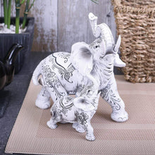 Load image into Gallery viewer, Nemesis Now Henna Happiness 17cm Elephant Figurine Medium