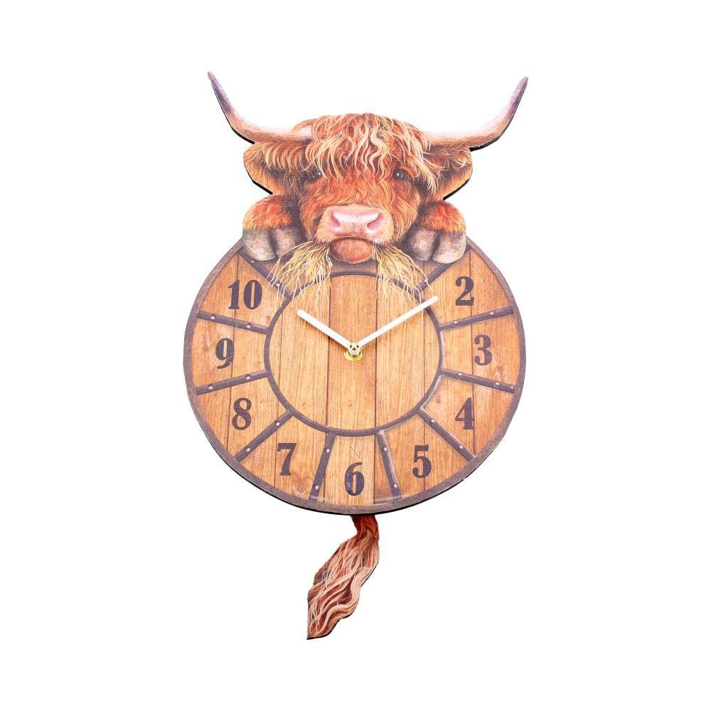 Nemesis Now Highland Tickin' Animal Clock