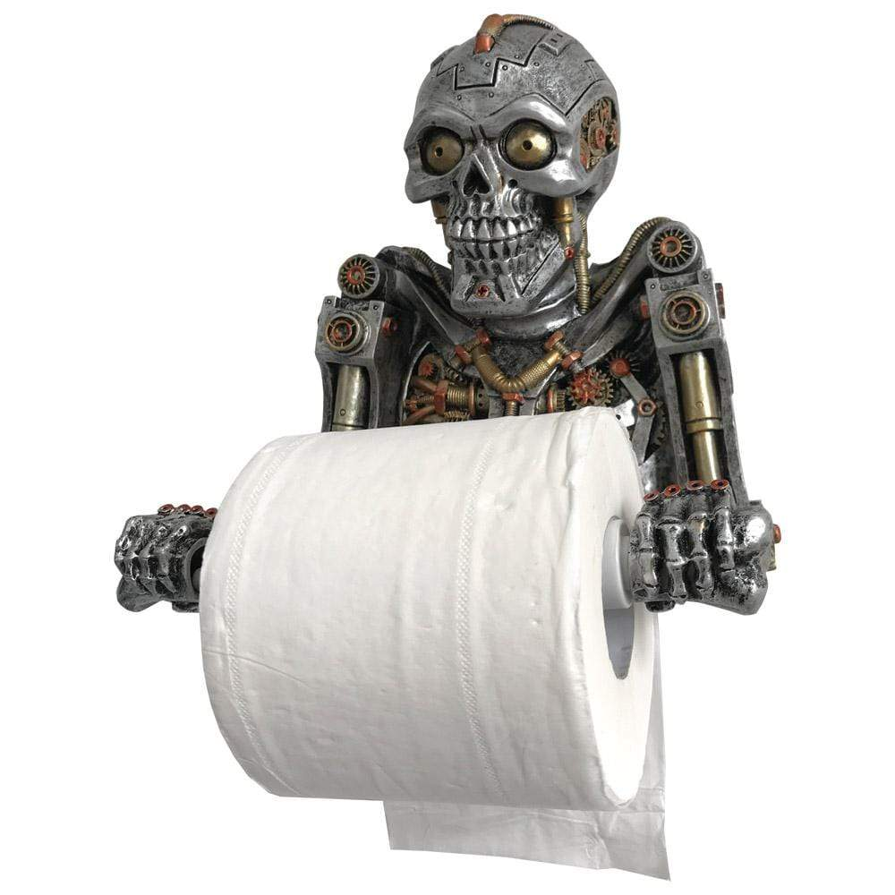 Humanoid Helper 23.5cm Skeleton Toilet Roll Holder