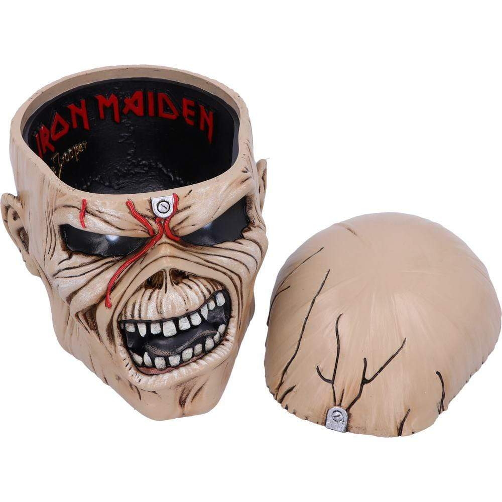 Iron Maiden The Trooper Box 18cm Band Merch Box