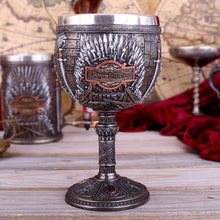 Load image into Gallery viewer, Nemesis Now Iron Throne Chalice (Got) 17cm Fantasy Goblet