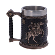 Load image into Gallery viewer, Knights Templar Tankard 16cm Medieval Tankard