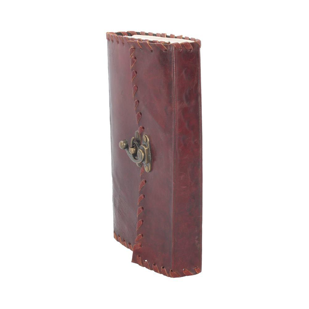 Nemesis Now Leather Journal With Lock 14cm X 23cm Witchcraft & Wiccan Journal (Leather)