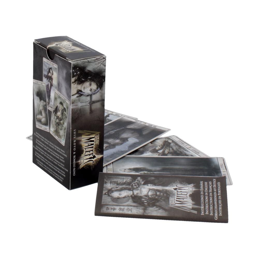 Malefic Time Tarot Cards By Luis Royo Gothic Cards