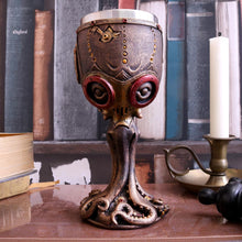 Load image into Gallery viewer, Mechanical Cephalopod Goblet 18.5cm Octopus Clock