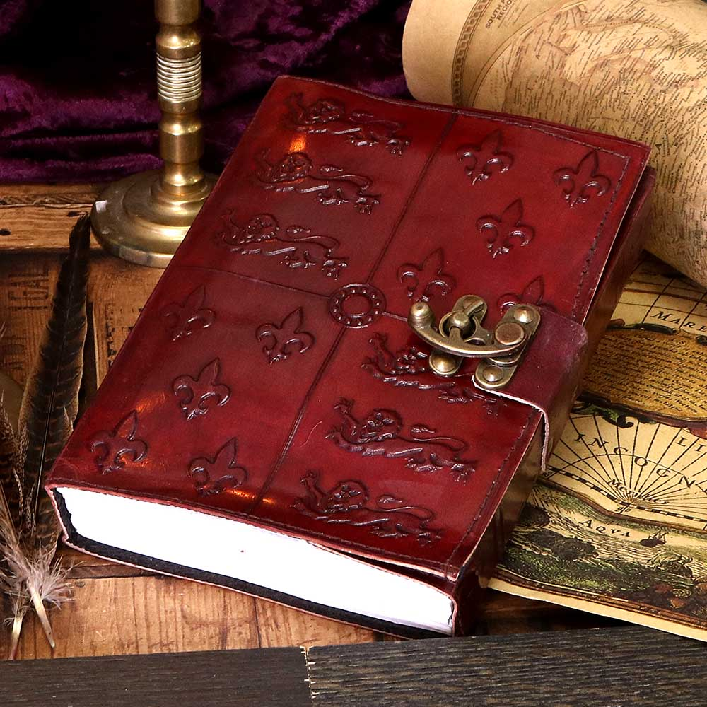 Medieval Leather Journal 15x21cm Medieval Journal