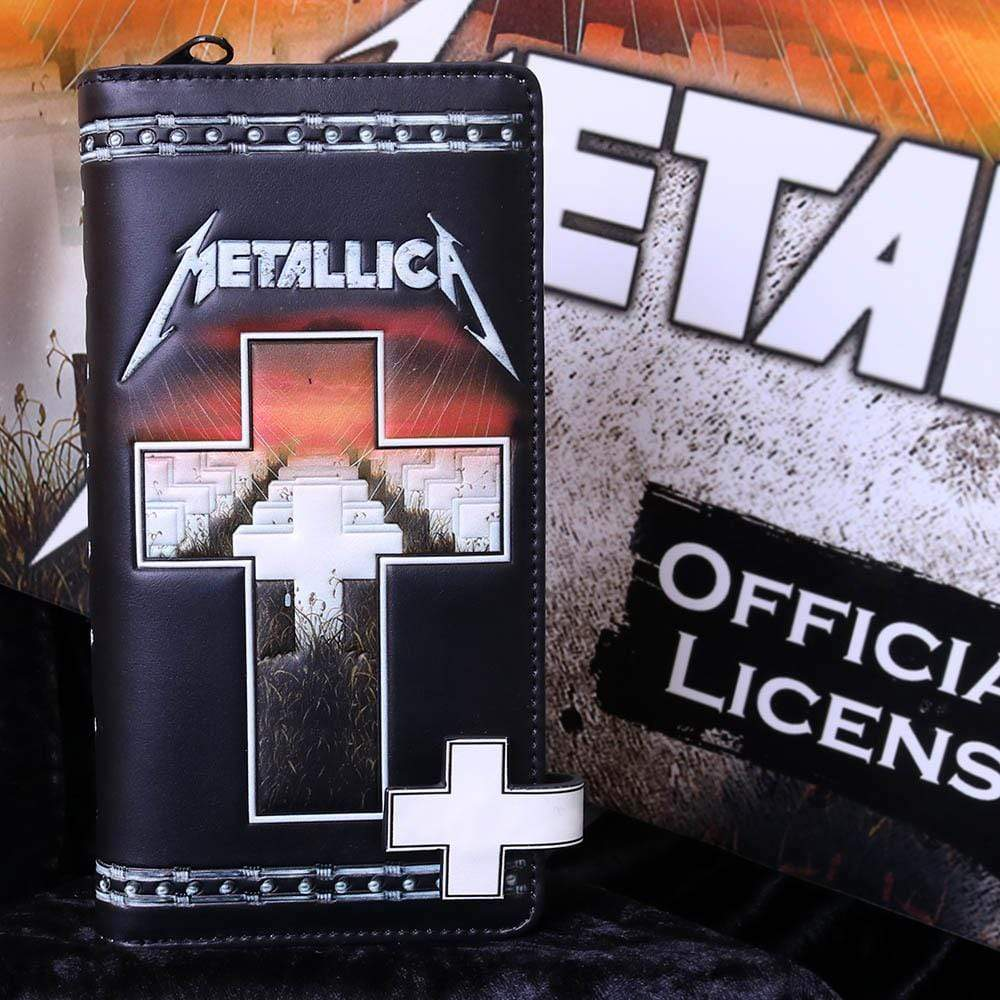 Metallica Master Of Puppets Embossed Purse Band Merch Purse