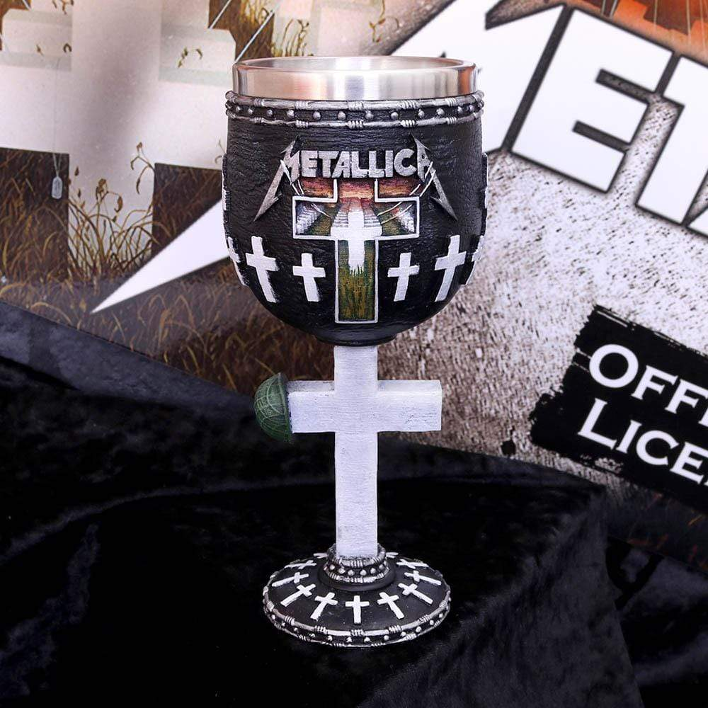 Metallica Master Of Puppets Goblet 18cm Band Merch Goblet