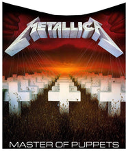 Load image into Gallery viewer, Metallica Master Of Puppets Throw 160cm Band Merch Throw