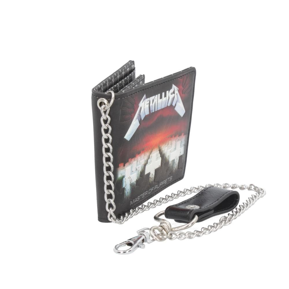 Metallica Master Of Puppets Wallet Band Merch Wallet