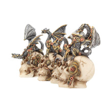 Load image into Gallery viewer, Mind Machines 10.5cm (Set Of 4) Skull Figurine Small
