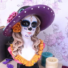 Load image into Gallery viewer, Muertos Marigold 35cm Gothic Figurine Large