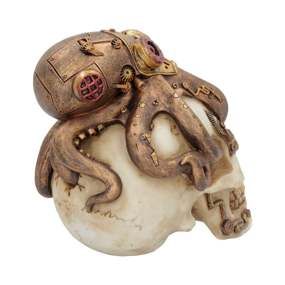Octo Craniotomy 15.5cm Skull Figurine Medium