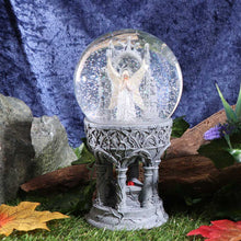 Load image into Gallery viewer, Only Love Remains Snowglobe (As) 18.5cm Fairies Snowglobe