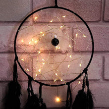 Load image into Gallery viewer, Onyx Dreams 20cm Miscellaneous Dreamcatcher