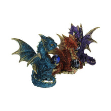 Load image into Gallery viewer, Orb Guardians (Set Of 3) Dragon Figurine Small